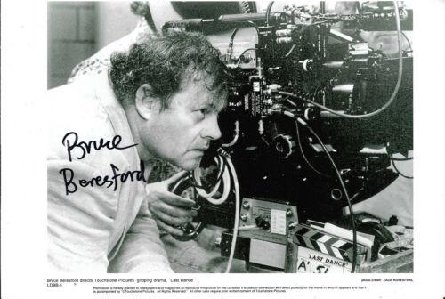 Bruce Beresford Autogramm signed 20x30 cm Bild s/w