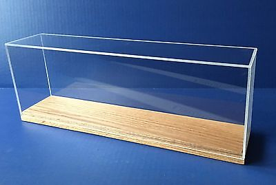 Display Case 15 5  For  Scale Ship Models Cruise Kit Train Acrylic   By Scherbak