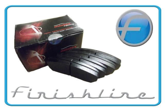 Mintex Racing Brake Pads MDB1411 M1166 fits Rover Tomcat/MG ZR/MG ZS/Honda Civic