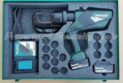 Greenlee Gator Ek1240clx Battery Hydraulic Crimper U Die Ek1240l Crimping Tool