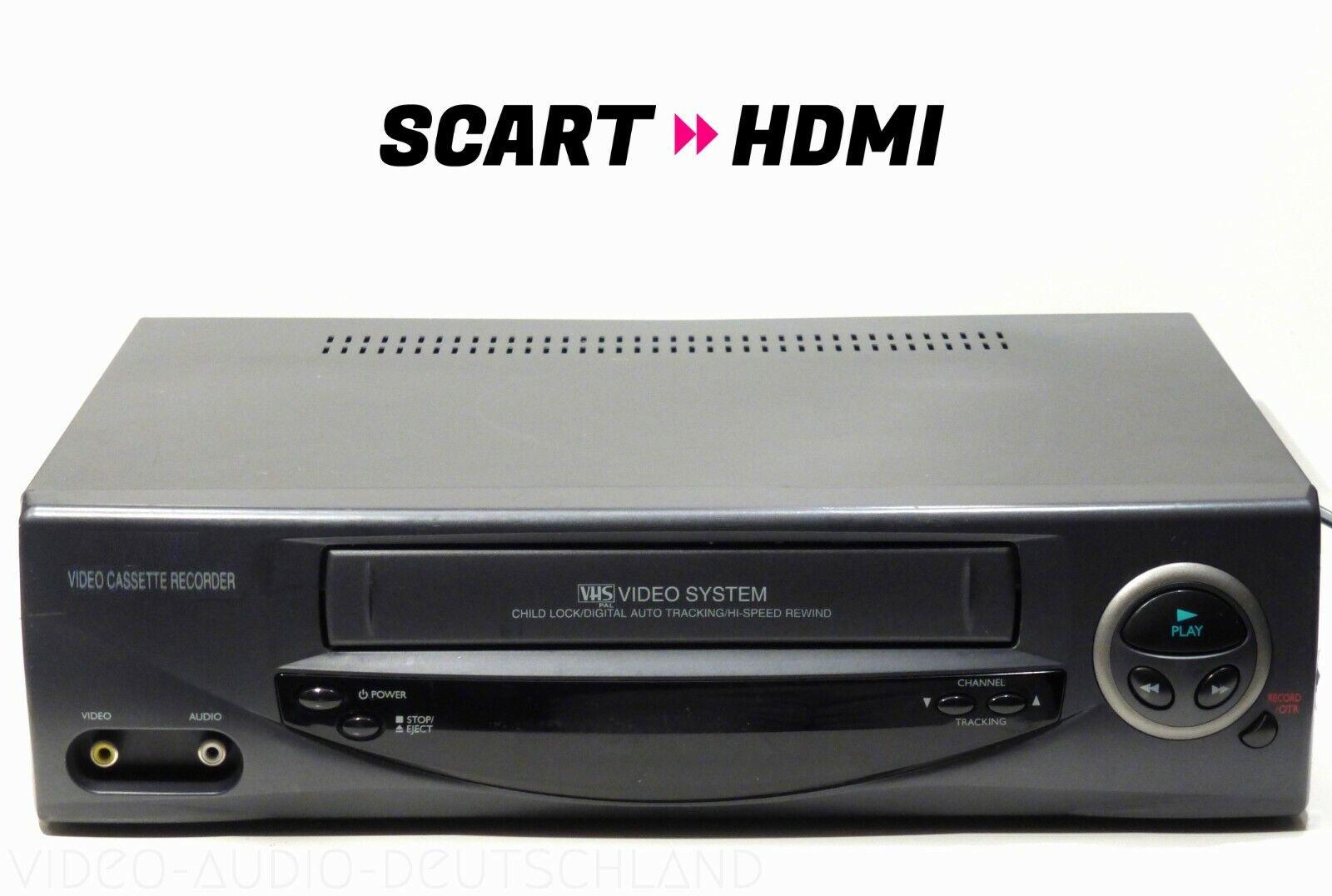 Standard VHS Videorekorder + HDMI / gewartet 1 Jahr Garantie / Videorecorder