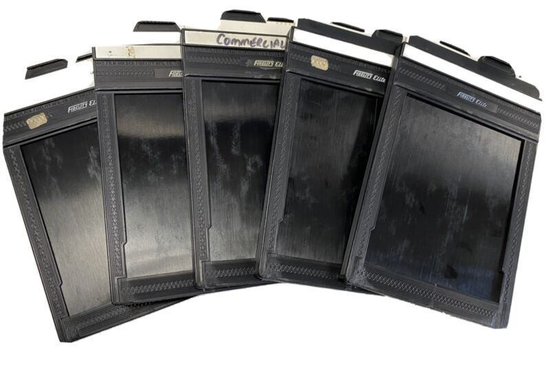 Fidelity Elite 4x5 Cut Film Back Holder lot of 5  EXC+ Condition