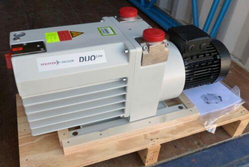 Pfeiffer Vacuum Duo 65 M Rotary Vane Pump New
