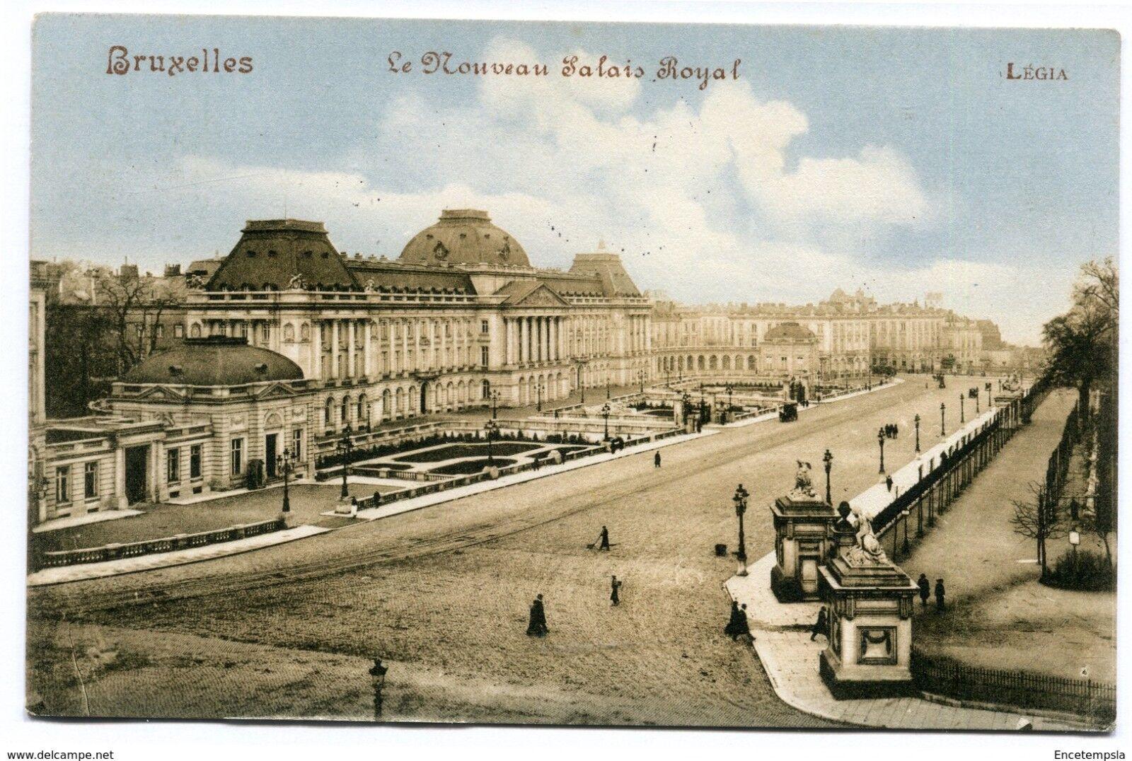 CPA-Carte postale-Belgique-Bruxelles - Le Nouveau Palais Royale - 1914 (CP2138)