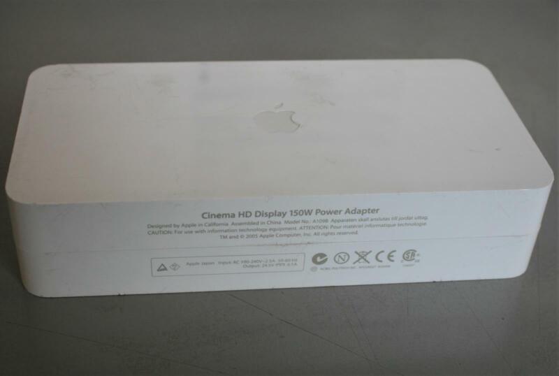 Genuine Apple A1098 Cinema HD Display 150W AC Power Adapter no power cord goody!