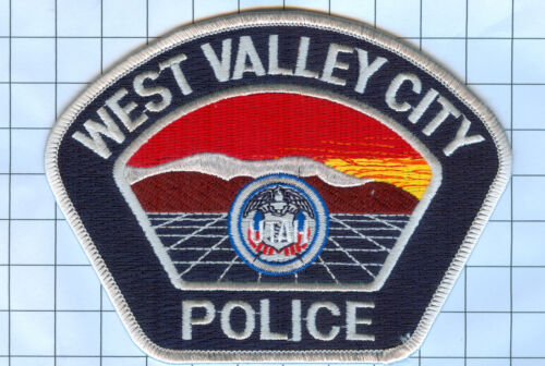 Police Patch  - Utah -West Valley City