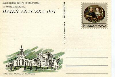 GA Ganzsache Polen Polska Dzien Znaczka 1971 Tag der Briefmarke GA309