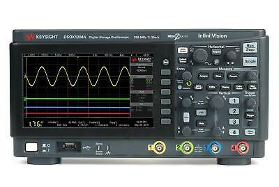 Keysight Dsox1204a Infiniivision 1000 X-series Oscilloscope 4ch 70 Mhz