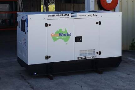 Diesel Generator 20kVA 415V in Canopy Raceview Ipswich City Preview
