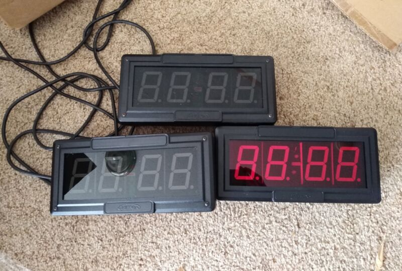 Lot of 3 Primex Synchronized Wireless Clock, Works, Free Shipping