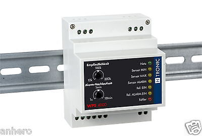 H-Tronic WPS4000, Water Level Monitor Levels + Check With 3 Sensors