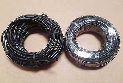 2  50' Rolls (100'] 18 Gauge Malibu Low Voltage Lighting Wire / Cable Led