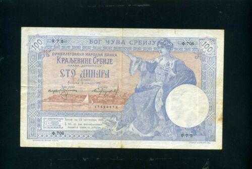 Serbia 100 dinara 1905 - VF