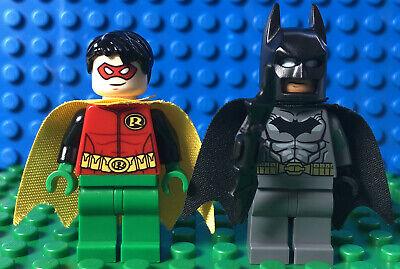 Lego Batman And Robin minifig Lot Of 2 mini figures