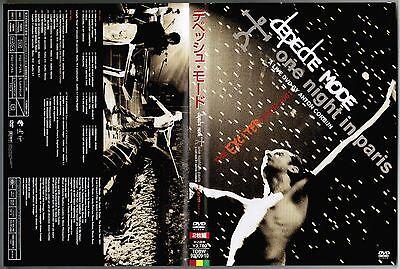 DEPECHE MODE One Night in Paris JAPAN DVD TOBW-92009~10 w/OBI+ BOOKLET Free S&H