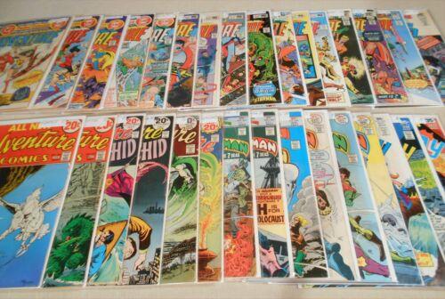 Lot of 31 Adventure Comics #425-484 Black Orchid Spectre Aquaman ++ 1973-1981 DC