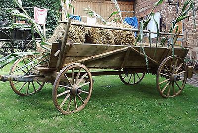 sehr schöner alter Ackerwagen / Erntewagen  Original restauriert
