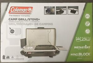 COLEMAN CAMP GRILL+STOVE