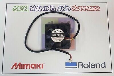 Genuine Roland Soljet Pro Ii Sc545-ex Fan For Power Supply Board - 1000007552