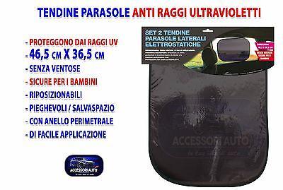 Tendine da sole auto 2 parasole per auto adesive set removibili protezione UV