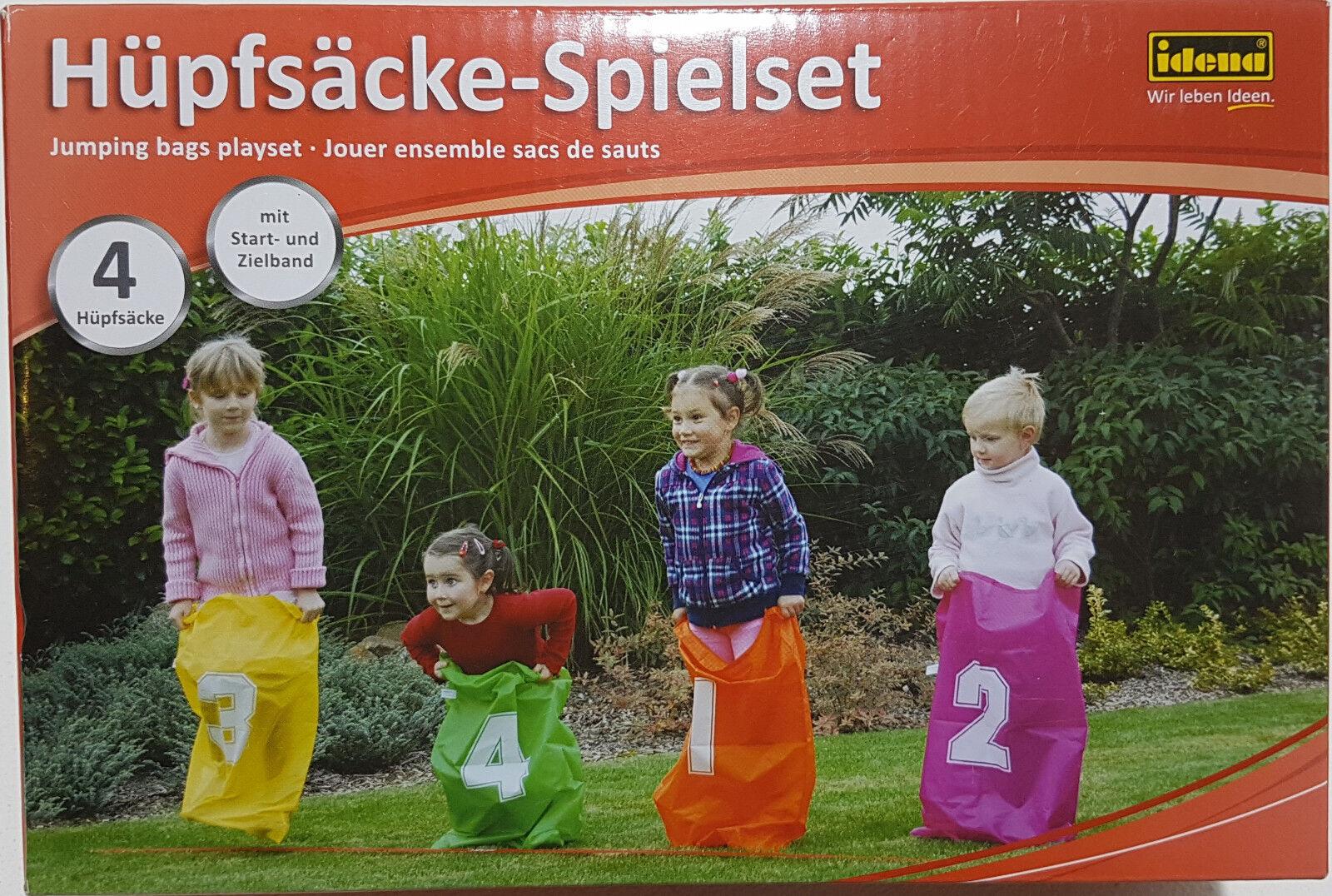 Hüpfsäcke Spieleset Hüpfsack  4 Hüpfsäcke Outdoor Indoor Kinderhüpfsack