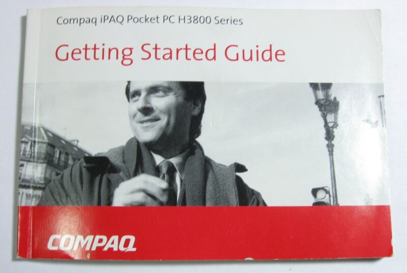 Hp Compaq Ipaq Pocket Pc H3800 Series Getting Started Guide
