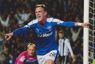 "Dean Sheils signed 12x8"" Rangers photo / COA"