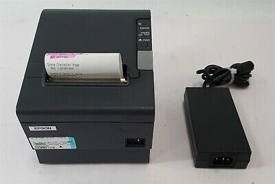 Epson M129h Tm-t88iv Pos Usb Thermal Receipt Printer