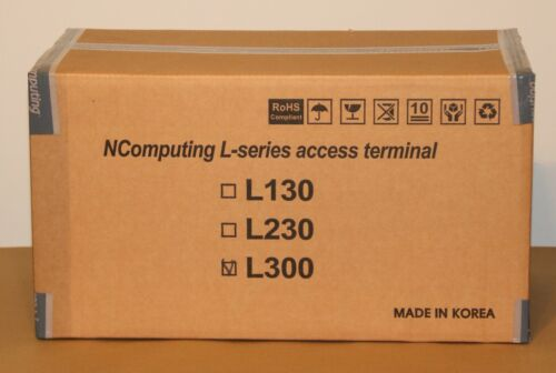 NComputing L300 Thin Client Ethernet Network Virtual Desktop  w/ vSpace Software