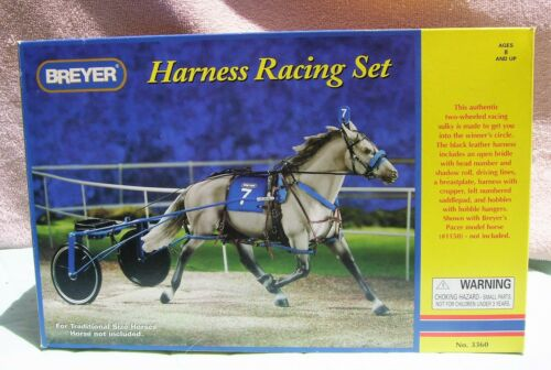 Breyer #3360 Harness Racing Set Horse Accessories Traditional Size