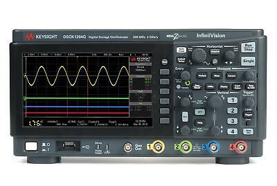Keysight Dsox1204g Infiniivision 1000 X-series Oscilloscope W. Wavegen 70 Mhz
