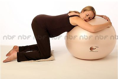 New 75cm Natural Birth & Fitness Birthing Ball with Pump - NBF pregnancy, gym