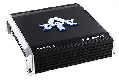 Autotek 1200 Watt 2 Channel Amplifier Car Audio Stereo Class A/B Power Amp