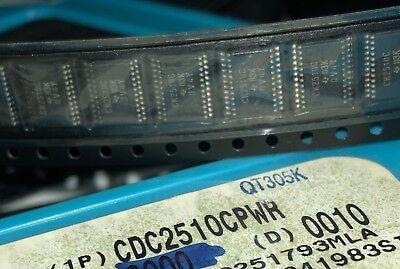 Ti Cdc2510cpwr Ic 3.3v Pll Clock Driver 24-tssop New Qty.2