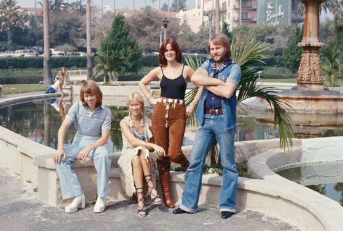 ABBA - MUSIC PHOTO #F-49
