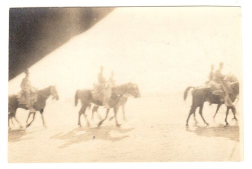 Photograph w/ Handwritten Note by George S. Patton - re/ Pancho Villa Expedition
