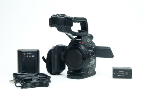 Canon C100 Camcorder with Dual Pixel AF Upgrade