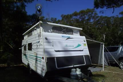 Caravan, poptop