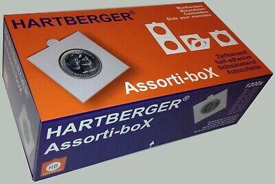 Assorti-box Hartberger voor munten - emballage de luxe pour étuis de monnaies