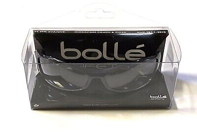 Bolle 40066 Spider Clear Anti-scratch Anti-fog Lens Safety Glasses