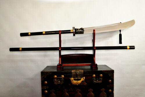 Traditional Korean Chosun Dynasty Weaponry Woldo Moon Sword_210cm