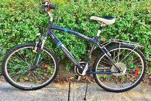 Tango Nakamura  ladies navy blue mountain bike with 21 speeds