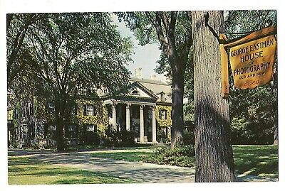 George Eastman House (GEORGE EASTMAN HOUSE In ROCHESTER Photographic Industry New York Postcard NY )