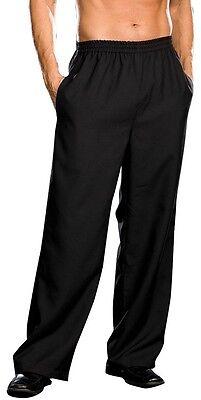 Men's Black Pirate Vampire Superhero Halloween Costume Pants Medum Large XL XXL - Pirate Pants For Men
