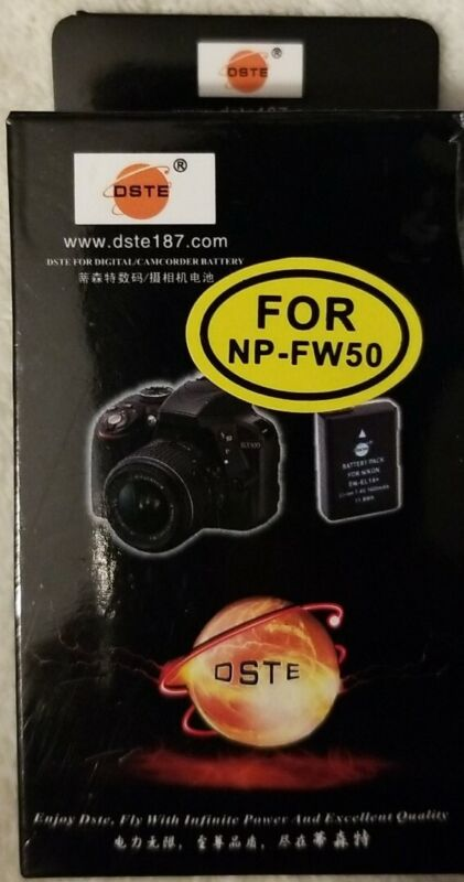DSTE Battery Pack For Digital/ Camcorder NP-FW50