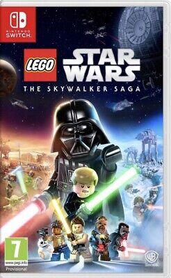 LEGO STAR WARS THE SKYWALKER SAGA SWITCH PREORDER OCT RELEASE