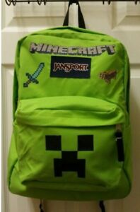 Looking for Mincraft clothes and a back pack