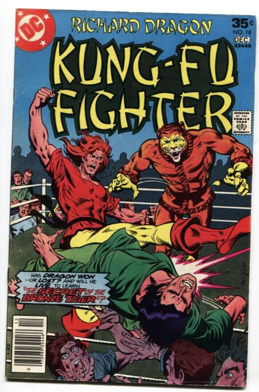 Richard Dragon Kung-Fu Fighter #18-DC 1st appearance of Bronze Tiger