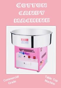 Cotton candy, popcorn machine, face painting starting at $50!