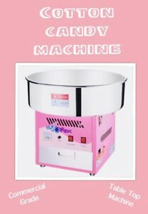 COTTON CANDY POPCORN MACHINE FACE PAINTING & MORE